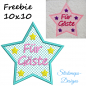 Preview: Freebie Stickdatei Für Gäste Handtuchmotiv (10x10)