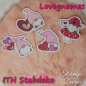 Preview: Stickdatei Set Lovegnomes ITH Stabdesigns