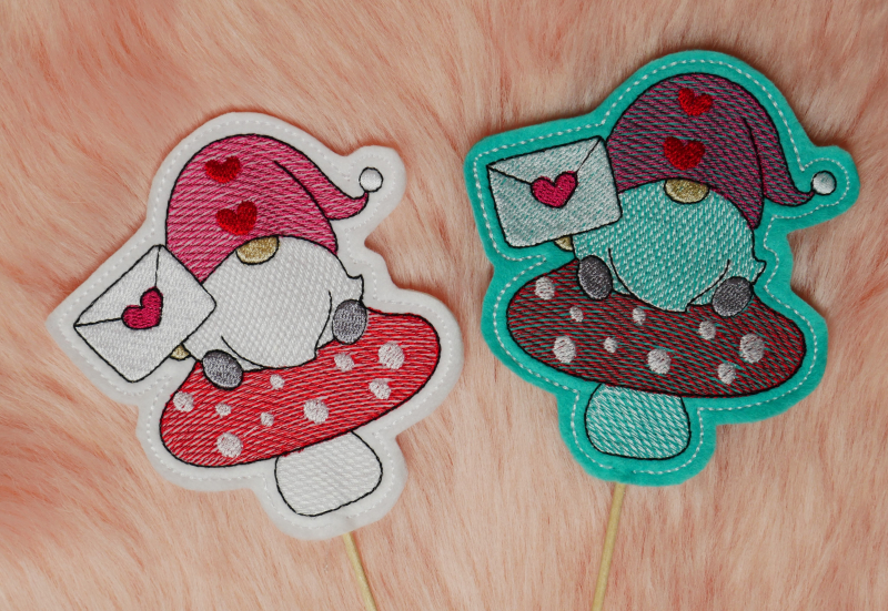 Stickdatei Set Lovegnomes ITH Stabdesigns